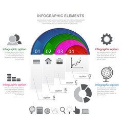 Infographic elements and icons vector
