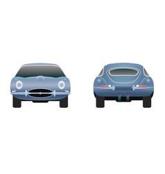 Jaguar e type 1961 vector