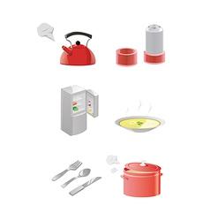 Kitchen equipment vector