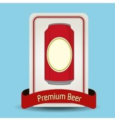 Premium beer graphic vector