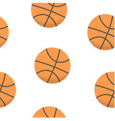 sport background design basketball balls vector image