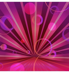 Abstract burgundy background with circles and vector image