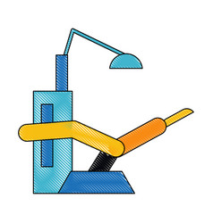 dental office equipment vector image