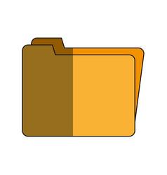 folder icon image vector image vector image