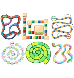 Game templates vector image