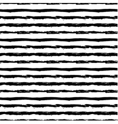 painted striped pattern from brush strokes vector image vector image