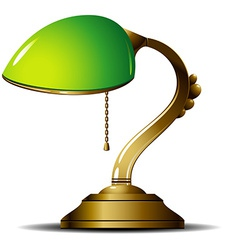 Green Lamp vector image