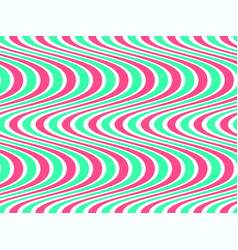 abstract geometric pattern with waves vector image