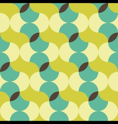 abstract retro geometric patterns set vector image