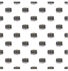 Bag for camera pattern vector