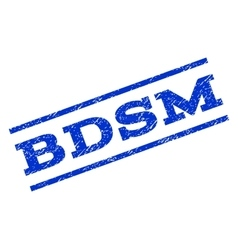 Bdsm Watermark Stamp vector image