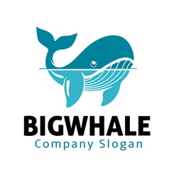 Big Whale Design vector