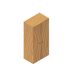 cupboard isometric icon vector image