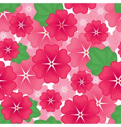 flower seamless pink vector image