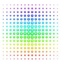 Medical pharmacy icon halftone spectrum pattern vector