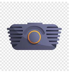 old school radio icon cartoon style vector image