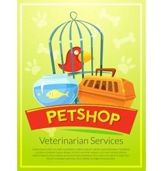 Petshop vector image