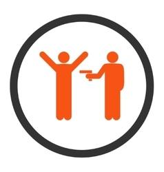 Crime icon vector image