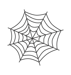 spider web art vector image
