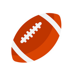 a american football vector image