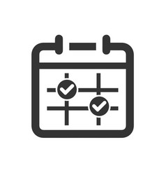 Appointment schedule icon vector