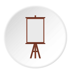 Easel icon circle vector