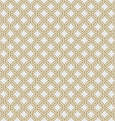 Gold chain armor seamless pattern vector