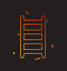 Ladder icon design vector