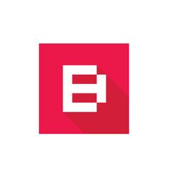 letter b logo icon design vector image