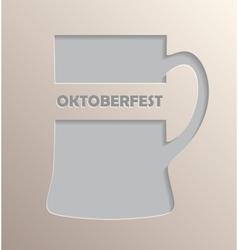 Oktoberfest poster design vector