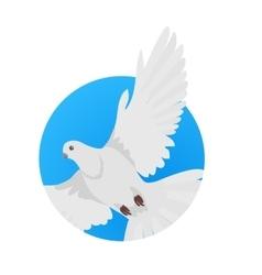 Pigeon Flat Design vector
