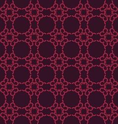 Pink seamless geometric pattern vector