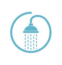 Shower mark vector