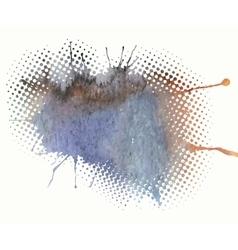 Watercolor splash a nice spot vector