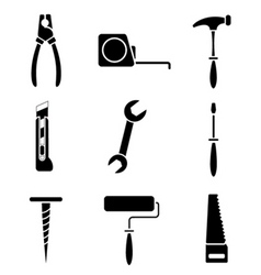 work tools vector image vector image