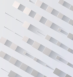 Abstract Background with flat shadow vector image