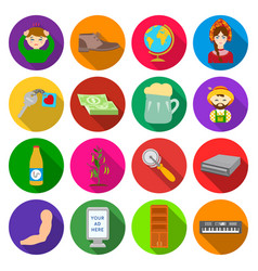 Commerce ecology medicine and other web icon in vector