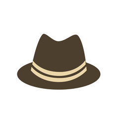 hat accessory icon vector image