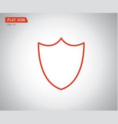 logo security company emerald shield for vector image