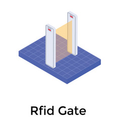 Rfid gate vector