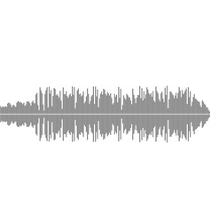 sound wave music background eps10 vector image