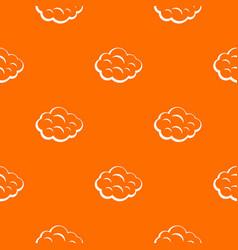 summer cloud pattern seamless vector image