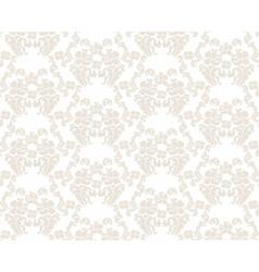Vintage elegant lily flower ornament pattern vector