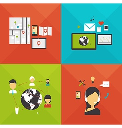 Communication navigation internet mail and support vector