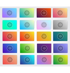 Gradients for designers and developers This is vector image vector image