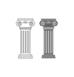 Ionic-Columns-380x400 vector image