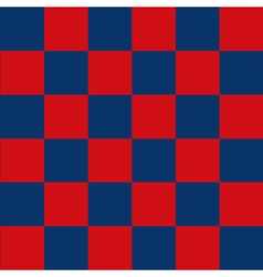 Blue Red Chess Board Background vector image