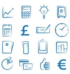 finance icon vector image vector image