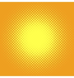 Retro comic pop background dotted halftone design vector image vector image