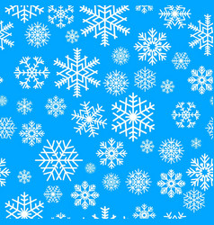 winter seamless pattern vector image vector image